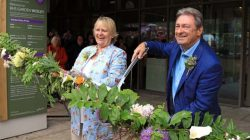 Alan Titchmarsh Opens RHS Wisley's new Visitor Welcome Building