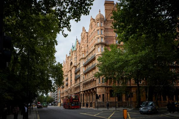 KEX77J The Principal London formerly kn Hotel Russell, is a five-star hotel, located on Russell Square by architect Charles Fitzroy Doll in London the capita