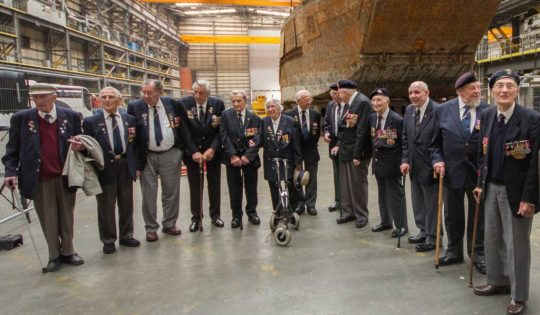 D-Day-veterans-and-LCT-7074-at-rear-credit-National-Museum-of-the-Royal-Navy-1024x873
