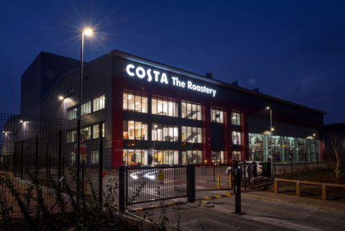 The new Costa roastery in Basildon before it opens for full production and during a supplier launch event.  Photography by Fergus Burnett   Accreditation required with all use - 'fergusburnett.com'